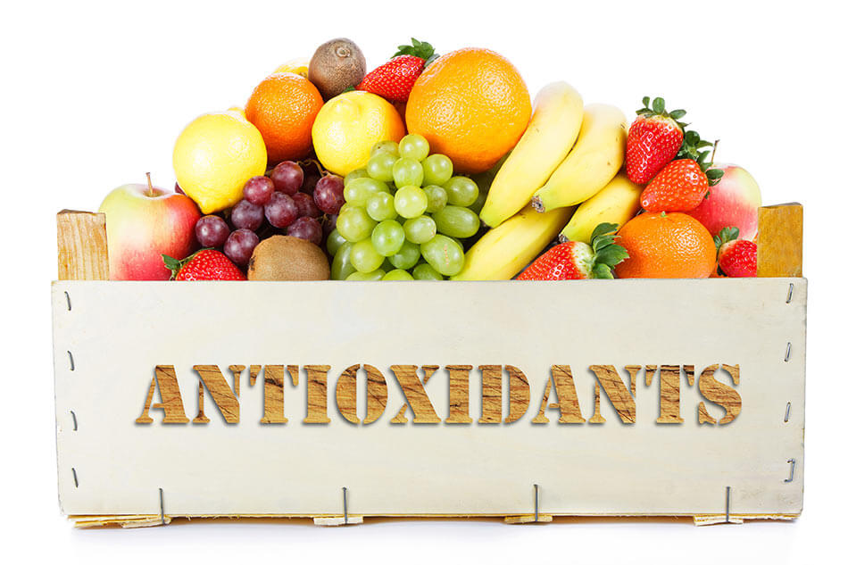 Foods containing antioxidants