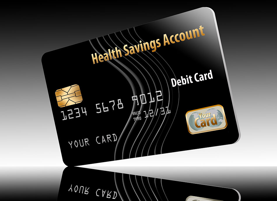 Spending card for HSA contact lenses