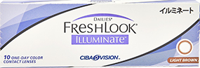 FreshLook Illuminate (Light Brown)