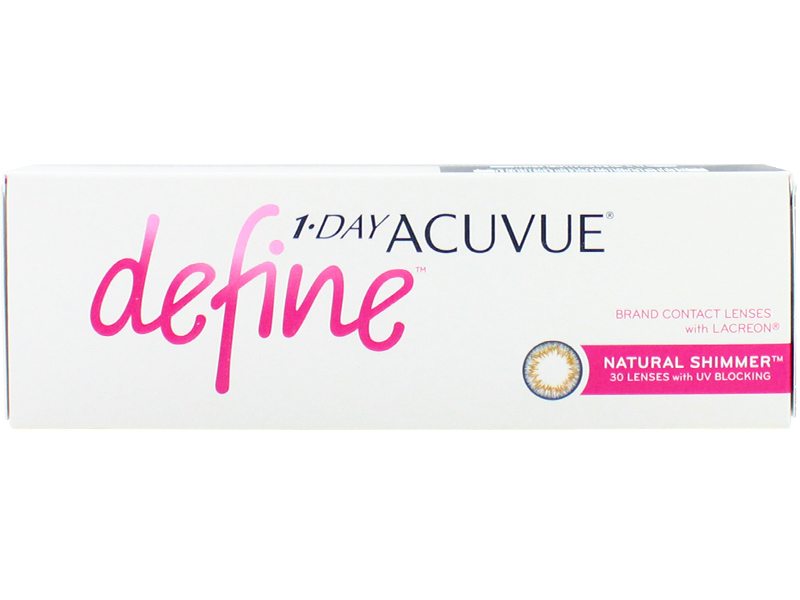 1day Acuvue Define Natural Shimmer with Lacreon