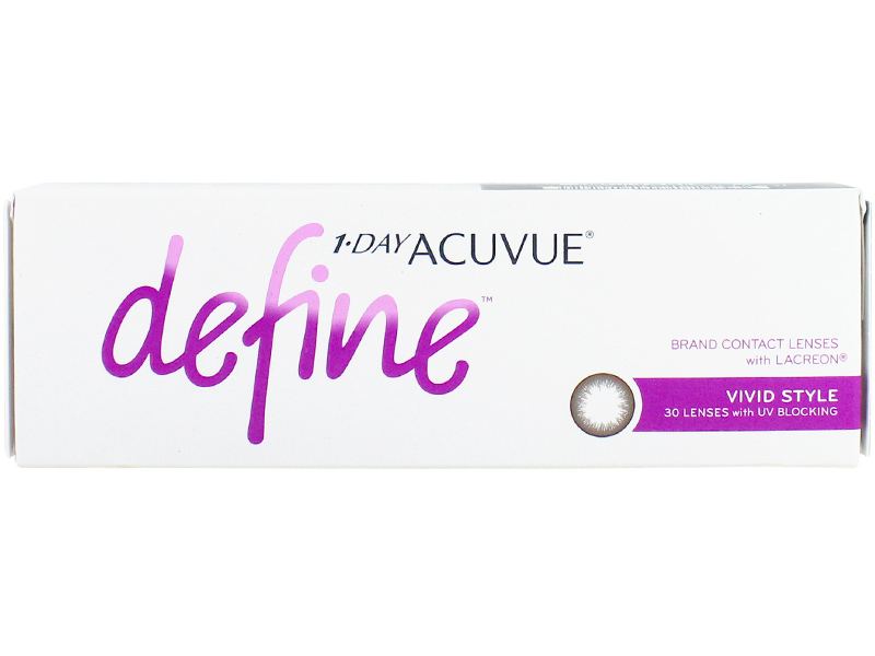 1 Day Acuvue Define Vivid Style with LACREON