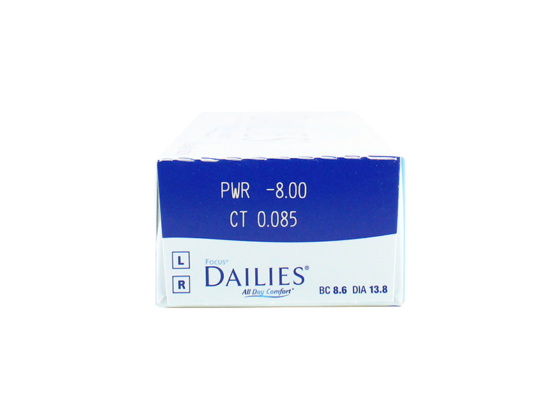 Focus Dailies 8-Box Pack (120 Pairs)